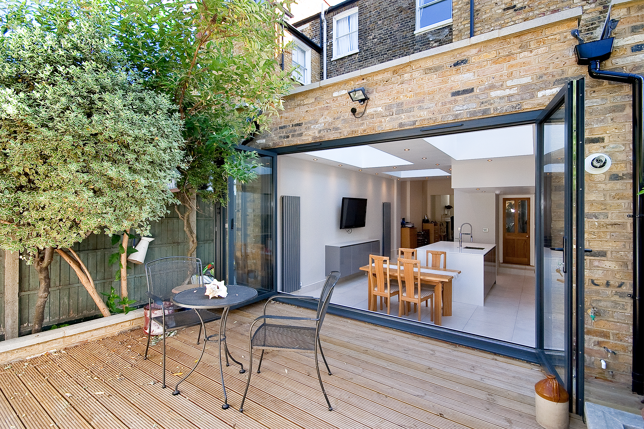 Architect designed putney wandsworth sw6 kitchen house for House and garden kitchen photos