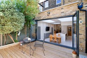 Architect designed Putney Wandsworth SW6 kitchen house