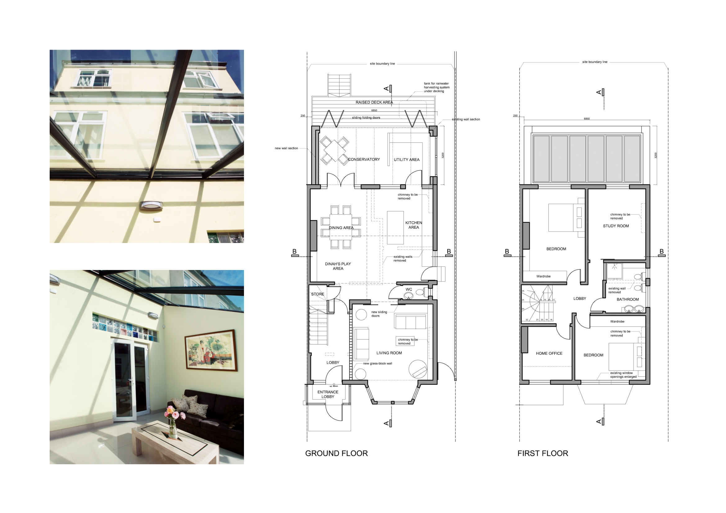 Image gallery house extension designs for Room extension plans