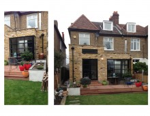 Grove Park, Lewisham SE12 - House rear extension - External photos