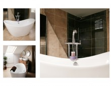 Architect designed house extension Chiswick Hounslow W4 - Bathroom design photos