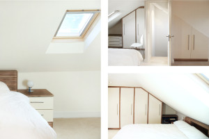 Architect designed house extension Highbury Islington N5 Roof extension and master bedroom 300x200 Highbury, Islington N5 | House extension