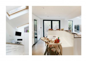 Highbury Islington N5 House extension Ground floor kitchen extension 300x212 Highbury, Islington N5   House extension