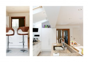 Highbury Islington N5 House extension Side kitchen extension and internal views 300x212 Highbury, Islington N5   House extension