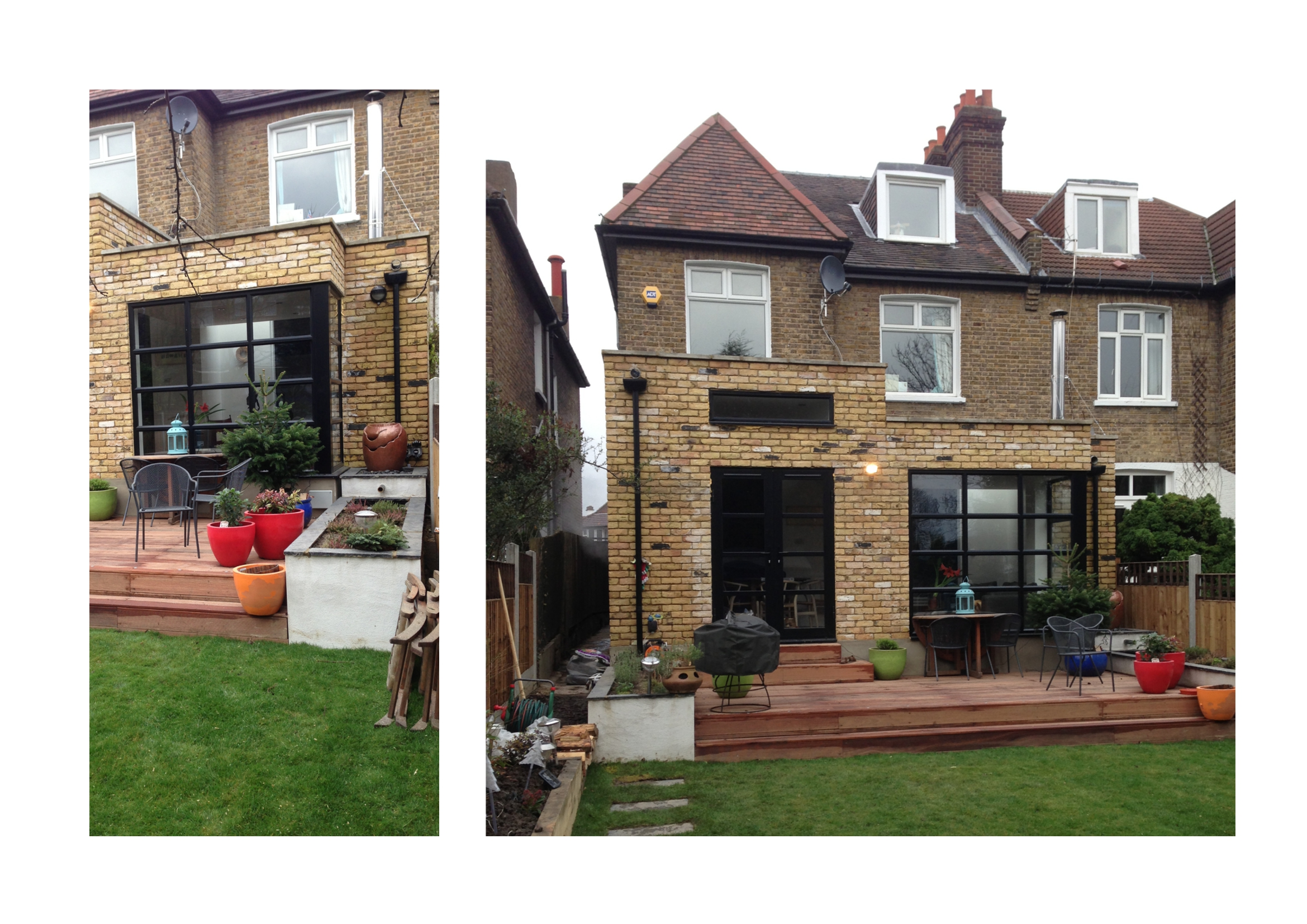 Architect Designed Rear And Side House Extensions In London