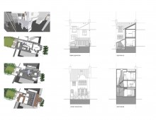 04 Highgate, Haringey N8 - House extension - 3Ds, sections and elevations