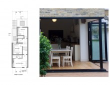 East Finchley, Barnet N2 - House extension - First floor design plan