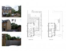 Friern Barnet, Barnet N11  House extension - Floor plans