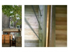 Kings Cross, Camden NW1 - House extension - External view and detail