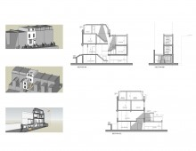Shepherd's Bush, Hammersmith & Fulham W14 - House extension - Design sections and 3D images