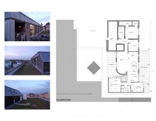 Architect designed penthouse extension Angel Islington N1 - Floor plan