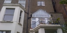 Earls Court SW5 Kensington and Chelsea flat extension architectural services_Rear elevation