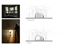 Nunhead Lewisham SE15 house kitchen extension - Architectural elevations