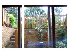 Kings Cross, Islington WC1 - Listed Building rear flat extension - Bedroom view
