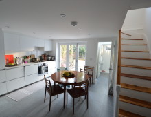 Architect designed house extension with full refurbishment Lewisham SE13 - View of ground floor