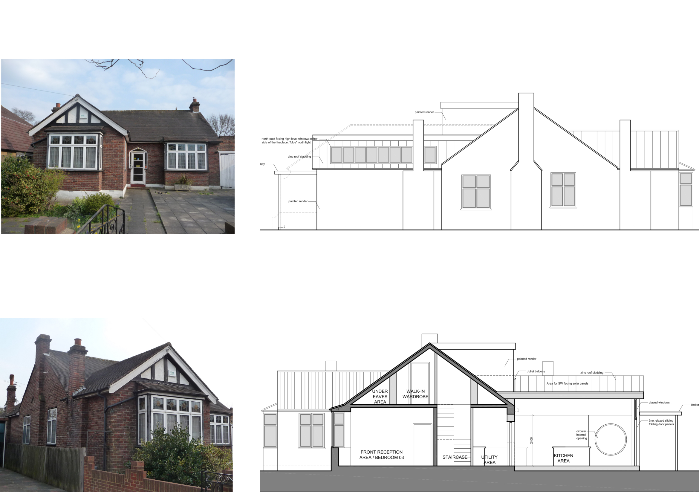Architect Designed Residential Extension Stoneleigh Kt17