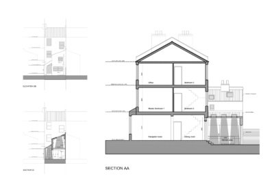 SW4 CLAPHAM NORTH 400x284 Filterable Portfolio of Residential Architecture Projects