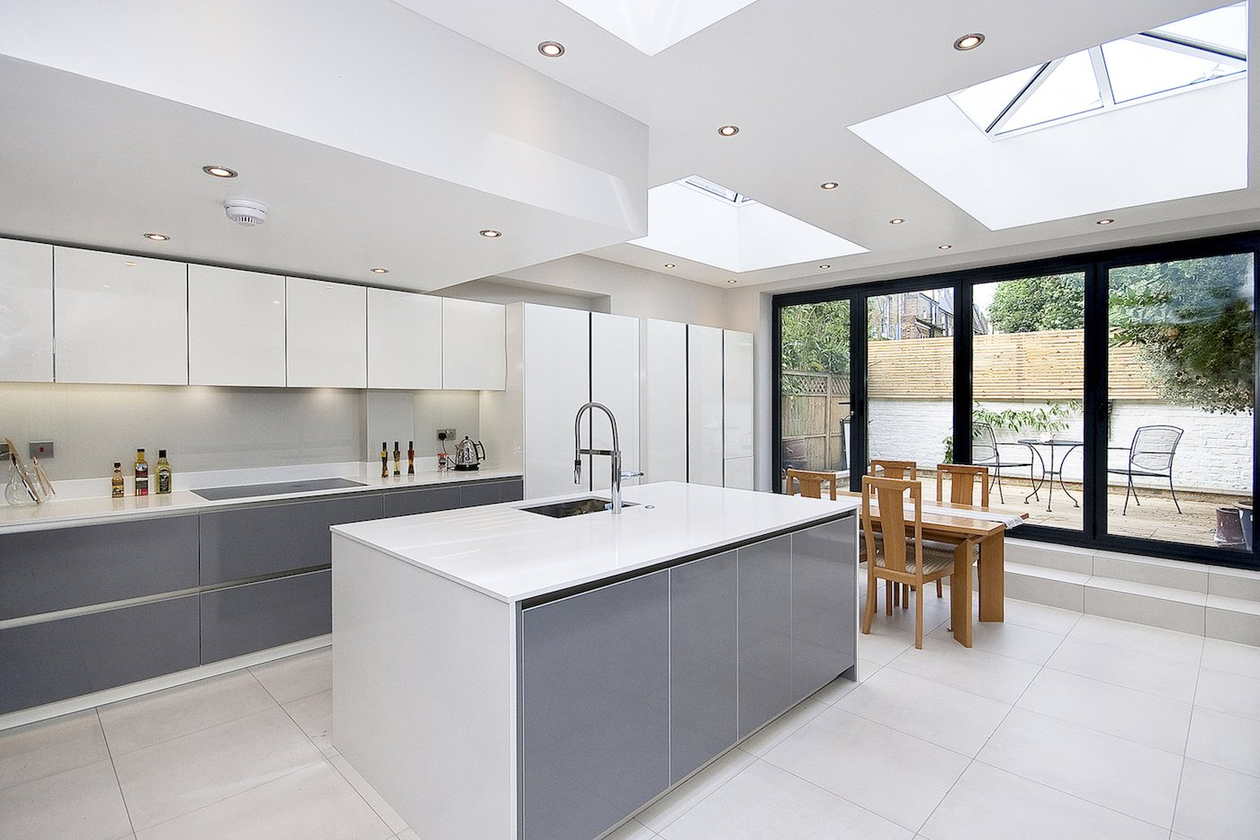 Architect designed Putney Wandsworth SW6 kitchen house extension Finishes and materials Contemporary extensions in London | Home ideas | GOA Studio