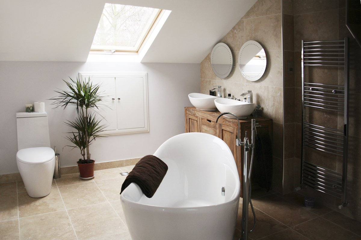 West London Residential Architect designed house extension Chiswick Hounslow W4 – Bathroom design photos West London residential architecture projects