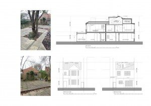 Architect designed residential flat conversion Chiswick Hounslow W4 Design section and elevations 300x212 Filterable Portfolio of Residential Architecture Projects