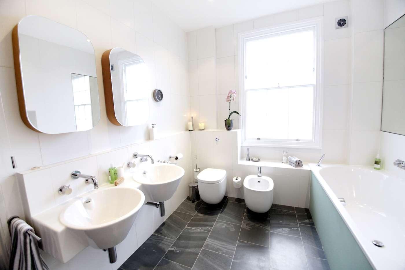 Architect designed mansard roof house extension Angel Islington N1 Bathroom design Mansard roof extensions in London | Home ideas
