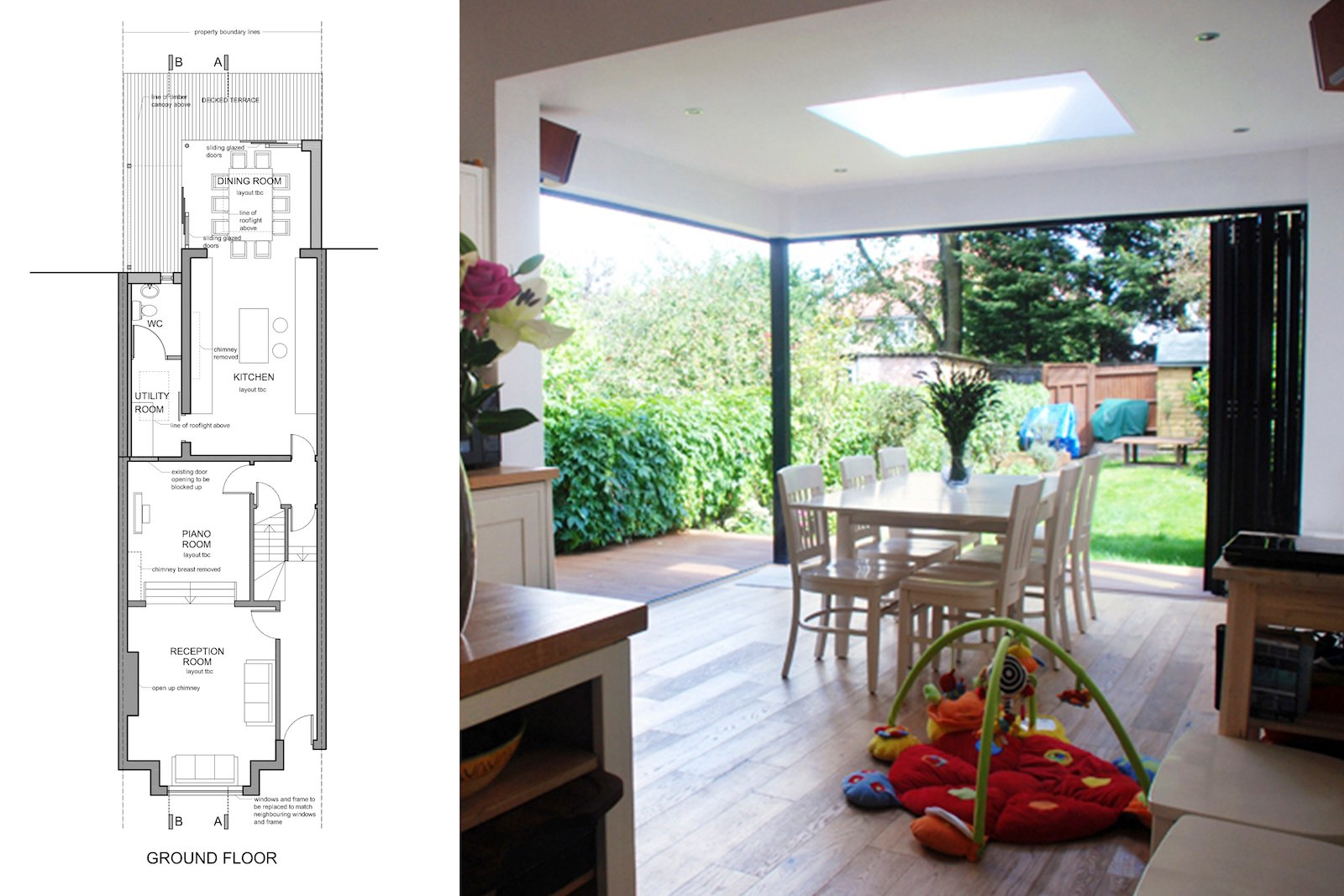Architect Designed House Extension East Finchley Barnet N2