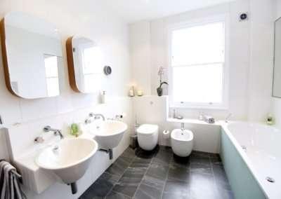 Architect designed mansard roof house extension Angel Islington N1 Bathroom design copy 400x284 Portfolio Grid | GOA Studio | London Residential Architecture