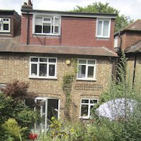 Architect designed rear house extension Highgate Haringey N6 Rear Elevation Haringey Residential Architect Projects