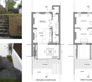 Architect designed two storey house extension Brockley Lewisham SE4 – Design plans 300x266 Brockley, Lewisham SE4 | Two storey house extension