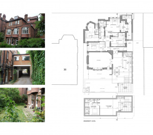 Finchley road Camden NW3 Flat extension Design floor plan 3 300x266 Finchley Road, Camden NW3 | Flat extension