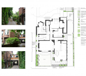 Finchley road Camden NW3 Flat extension Landscape design by Neil Tully landscape architects 1 300x266 Finchley Road, Camden NW3 | Flat extension