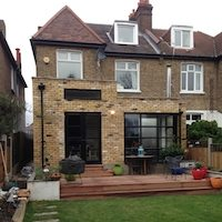 Grove Park Lewisham SE12 House rear extension External photos South London residential architecture projects