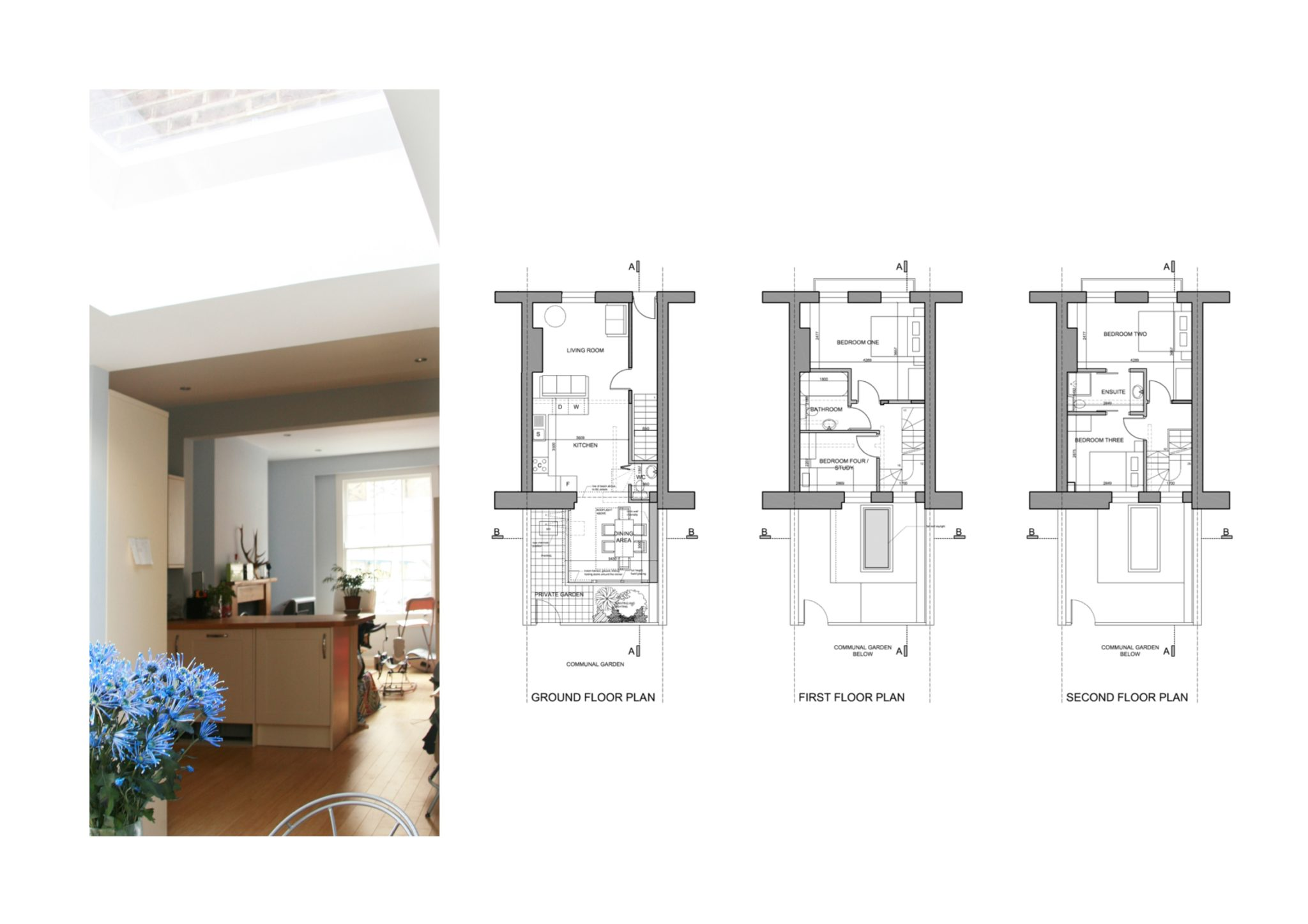 Kings Cross Camden Nw1 House Extension Design Floor Plans