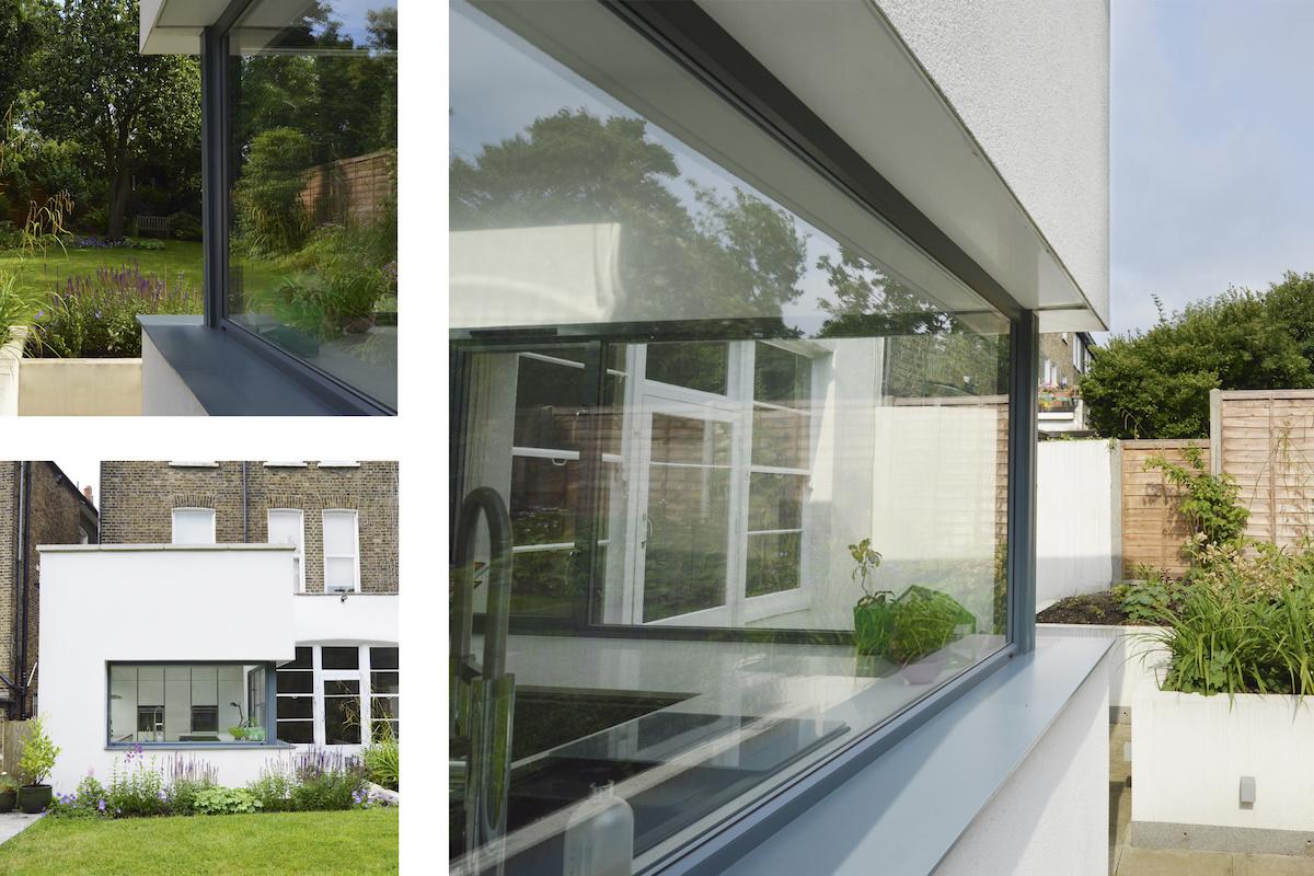 Architect designed Kilburn Brent NW2 kitchen house extension Extension views 1200x800 Kilburn, Brent NW2 | Garden flat extension