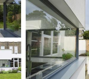 Architect designed Kilburn Brent NW2 kitchen house extension Extension views 300x266 Kilburn, Brent NW2 | Garden flat extension
