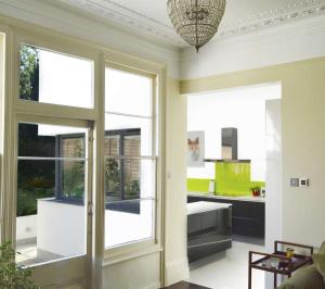 Architect designed Kilburn Brent NW2 kitchen house extension Internal views 2 300x266 Kilburn, Brent NW2 | Garden flat extension