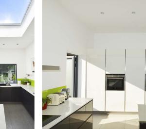 Architect designed garden flat extension Kilburn Brent NW2 Kitchen ideas 2 300x266 Kilburn, Brent NW2 | Garden flat extension
