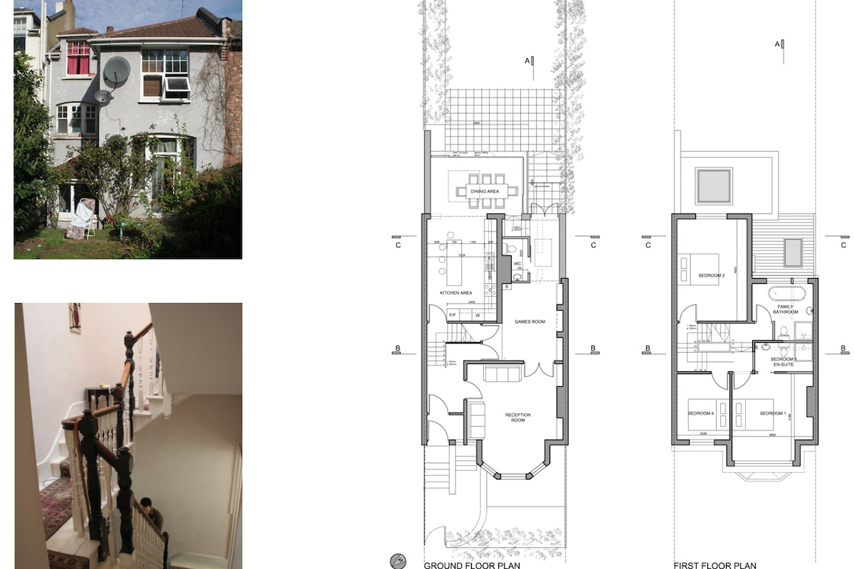 01 Highgate Haringey N8 House extension Lower floor plans 1200x800 Highgate II, Haringey N8 | House extension