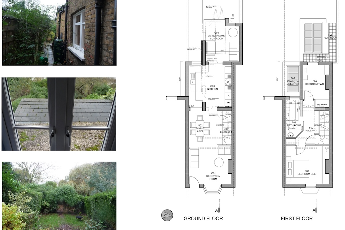 01 St Margarets Richmond TW1 Rear house extension Floor plans 1200x800 St Margarets II, Richmond TW1 | House extension