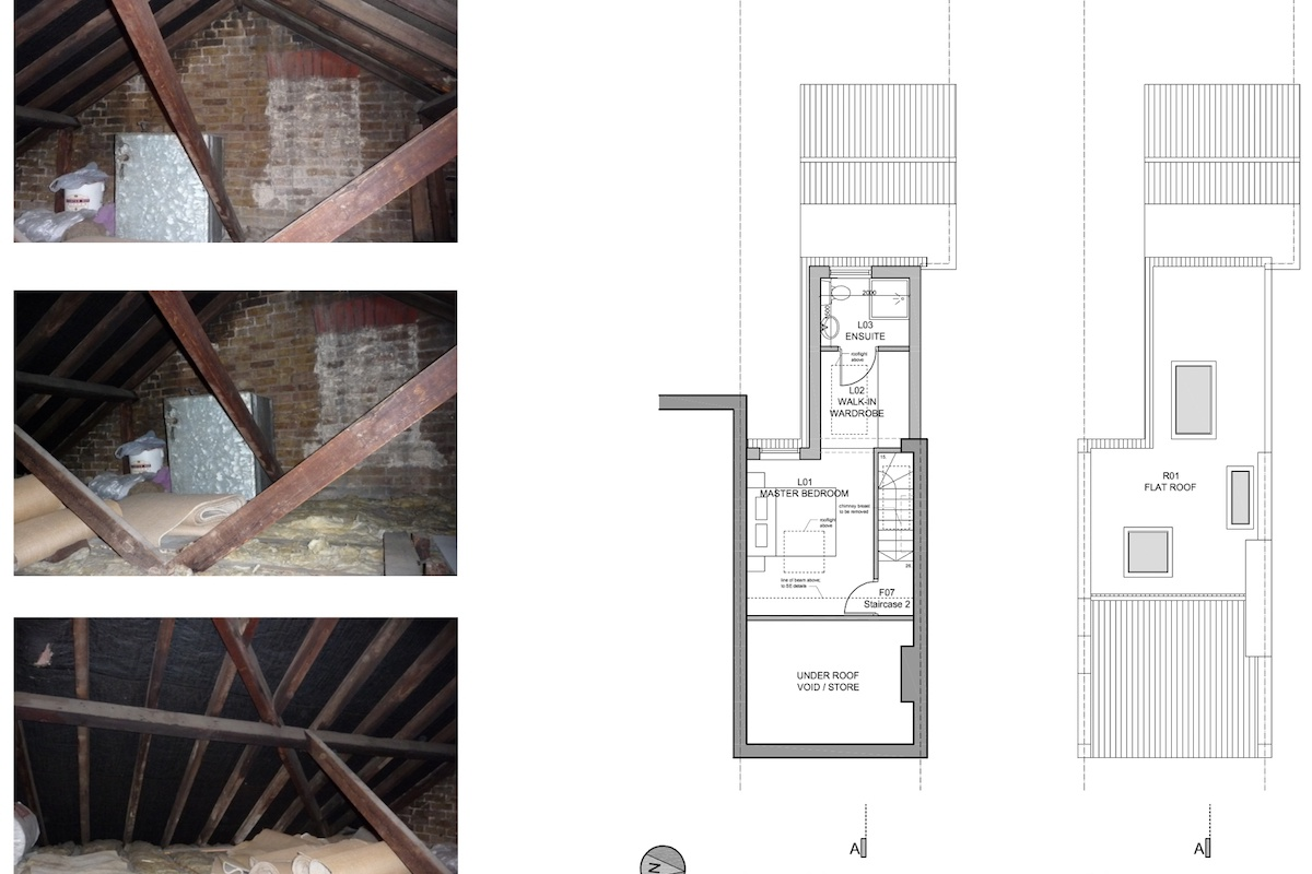 02 St Margarets Richmond TW1 House roof extension Floor plans 1200x800 St Margarets I, Richmond TW1 | House roof extension