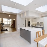 1. Architect designed Putney Wandsworth SW6 kitchen house extension Open plan layout Side extensions London | Home ideas