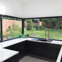 1. Architect designed garden flat extension Kilburn Brent NW2 Finishes and materials 1 Kitchen extensions in London | Home design
