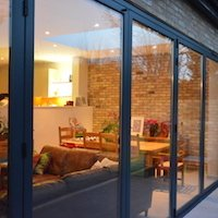 1. Architect designed house extension Grange Park Enfield N21 – View outside in House extensions in London | Home Design | GOA Studio