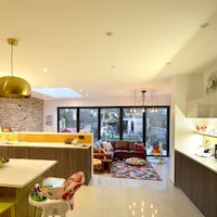 2. Architect designed house extension Grange Park Enfield N21 Internal view Residential renovations in London   Home ideas