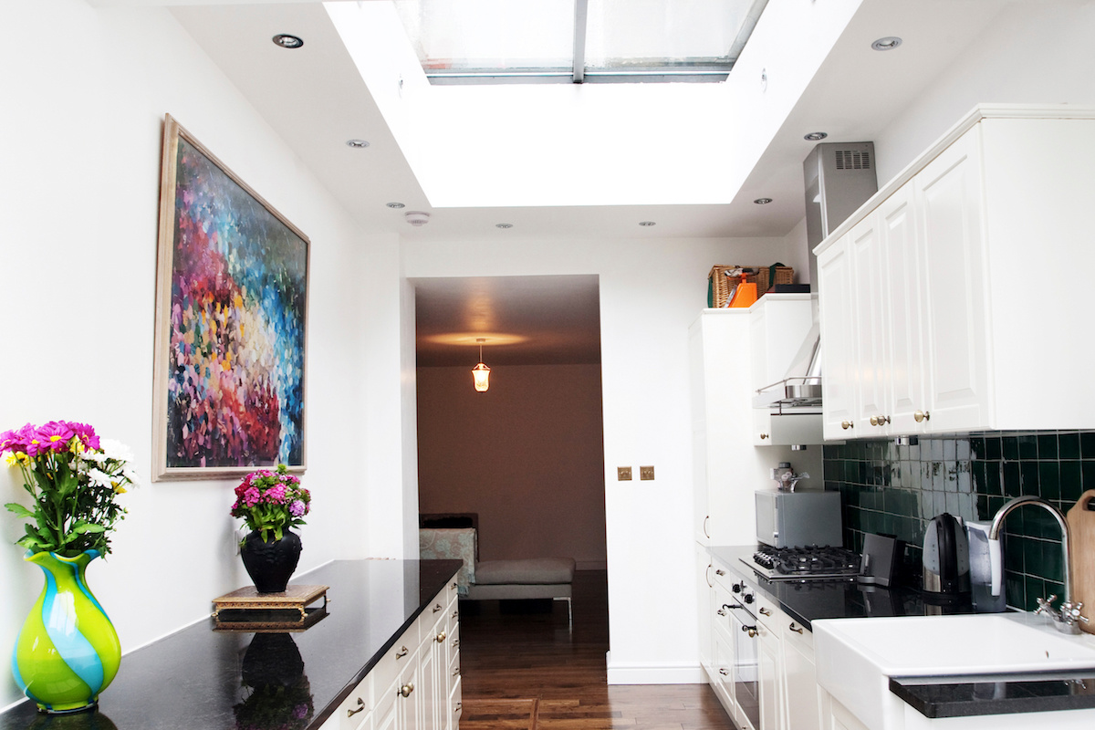 Architect designed flat extension Warwick Avenue Westminster W9 Kitchen area 1200x800 Warwick Avenue, Westminster W9 | Flat extension