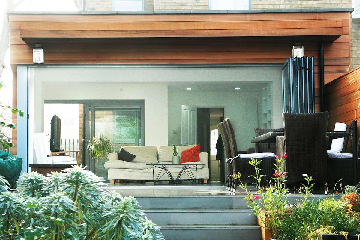 Architect designed house extension Brockley Lewisham SE4 Garden view 1 GOAStudio | London Residential Architecture