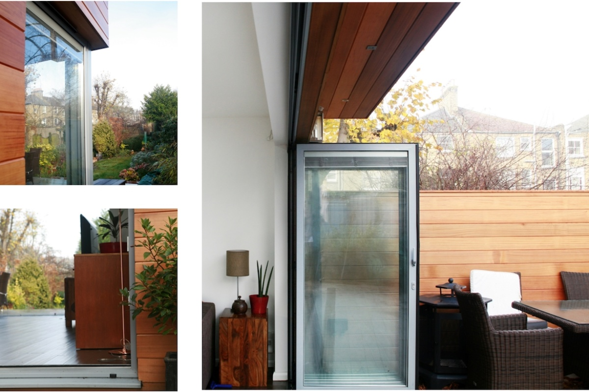 Architect designed house extension Brockley Lewisham SE4 Timber cladding and glass transparency 1200x800 Brockley, Lewisham SE4 | House extension