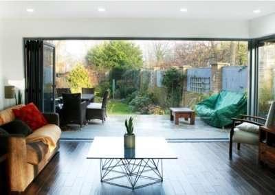 Architect designed house extension Brockley Lewisham SE4 View to the garden 1200x781 1 400x284 Portfolio Grid | GOA Studio | London Residential Architecture