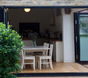 Architect designed house extension East Finchley Barnet N2 Inside out 300x266 East Finchley, Barnet N2 | House extension