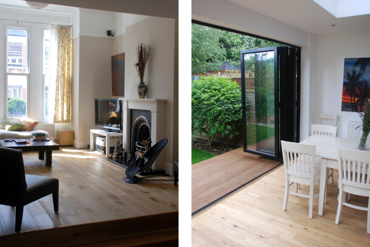 Architect designed house extension East Finchley Barnet N2 Interior spaces 1200x800 East Finchley, Barnet N2 | House extension